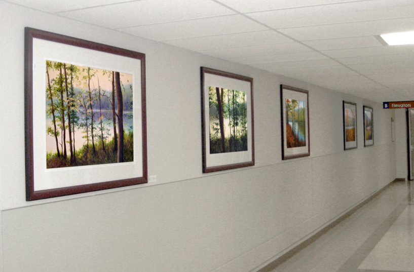 Liron Sissman art in Medical Centers